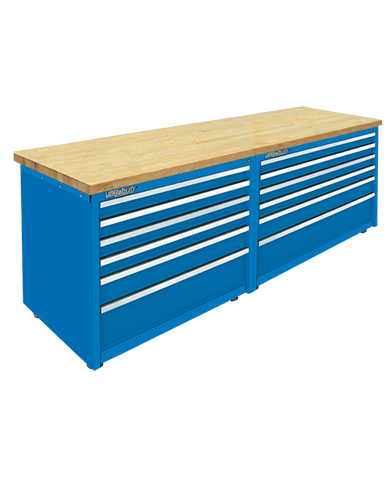 Modular storage cabinets by Professional Tool Storage