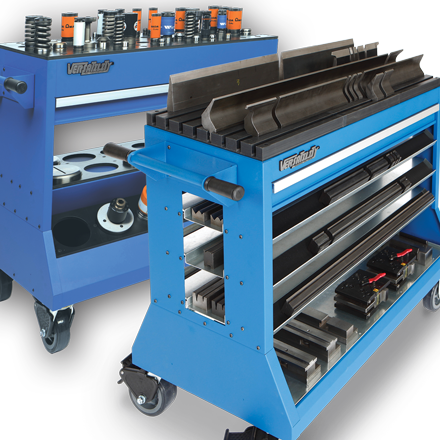 Versatility Tooling Changeover Carts